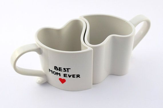 Custom gift for Parents' Day mum and dad mugs full by atelierChloe