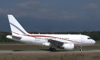 OE-LUX Airbus A318-112CJ Elite A318 Markus Eigenheer's Biz.. Flugzeuge