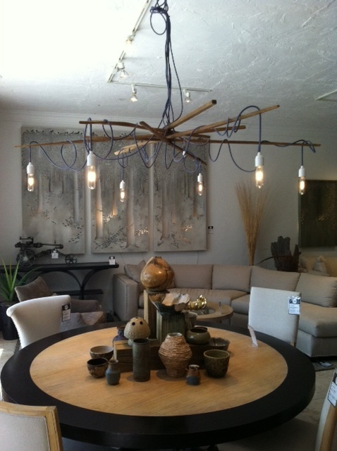 Jeff Jones, Beach Houses, Chandeliers, Sticks, Dining Rooms, Lighting,  Beach Homes, Chandelier, Dining Room .