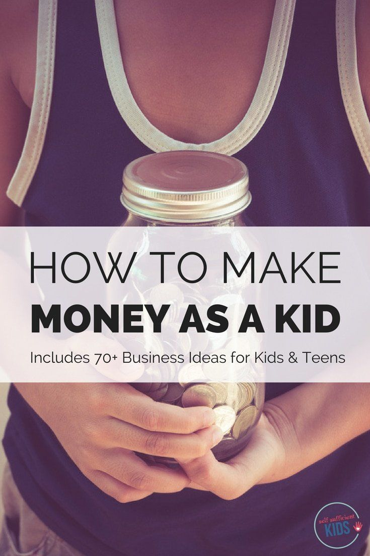 How to Make Money as a Kid – Business