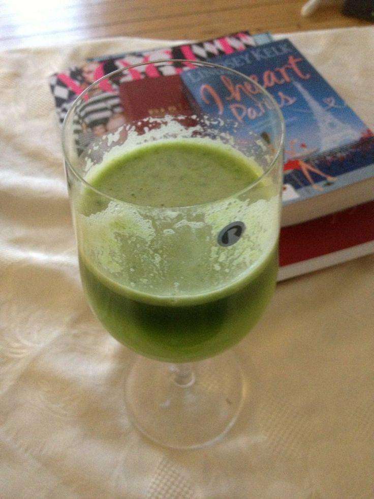 Grønn juice (Silje Austnes)