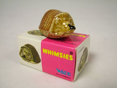 Whimsies Had loads of these. The hedgehog was always my favourite.