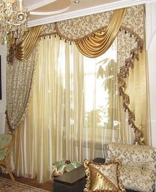 curtains model desinge  drapery 100% hand made Egyptian TASSEL valances