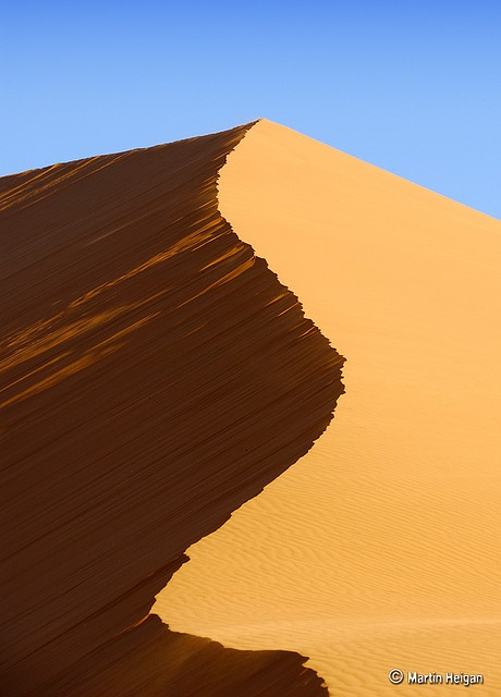 Sossusvlei Sand Dune (Namib-Naukluft National Park) by Martin_Heigan, via Flickr