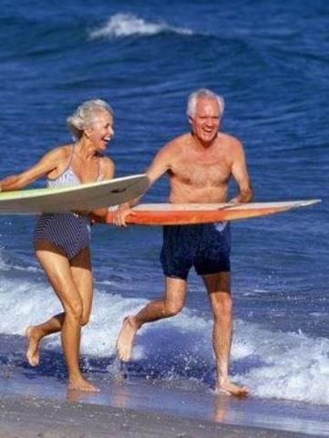 El surf no conoce de edades