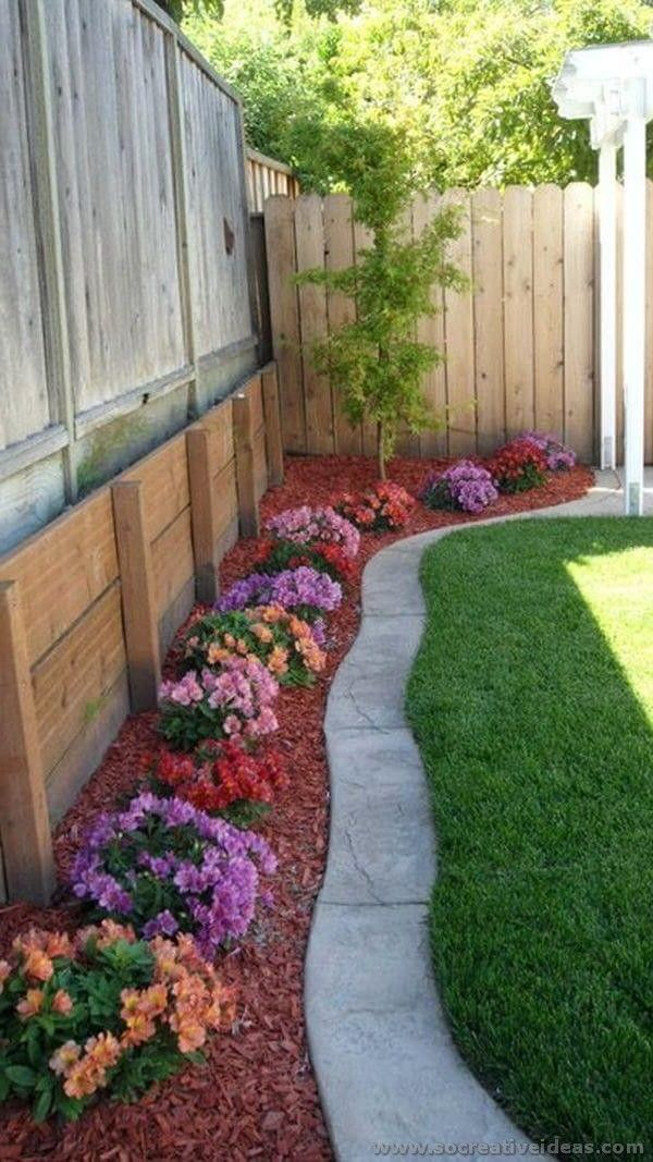 50 backyard landscaping ideas for inspiration for Landscaping the backyard ideas