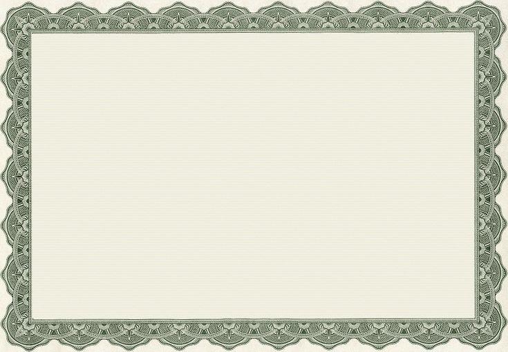 Blank certificate templates kiddo shelter blank for Blank certificate templates without borders