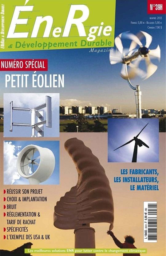 Energie & Développement Durable N°39-Rentrée 2012...!!!
