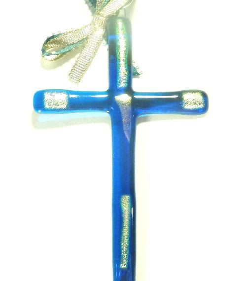 Crosses Religious Gift Christian Gift Christian Decor Wall Crosses Unique Crosses Glass Crosses Fused Glass Cross, Teacher Gift,Small Gift by SuspendedStar on Etsy