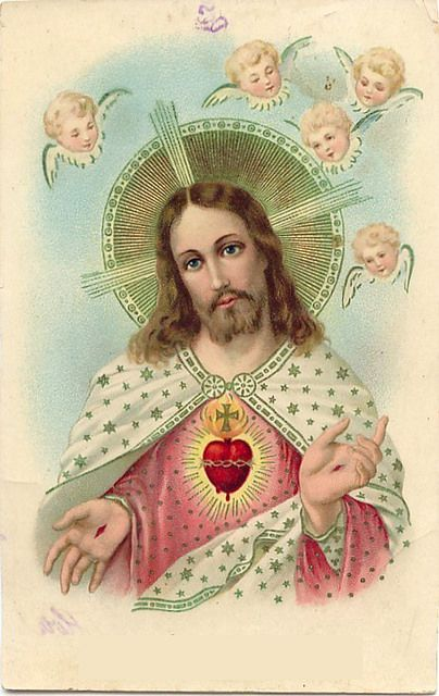 The SACRED HEART of JESUS - Pray for us.