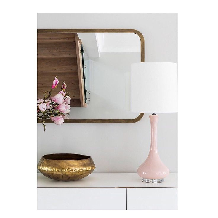 Simple chic with the Brass Empire Mirror (Taken by @laurastephensid)