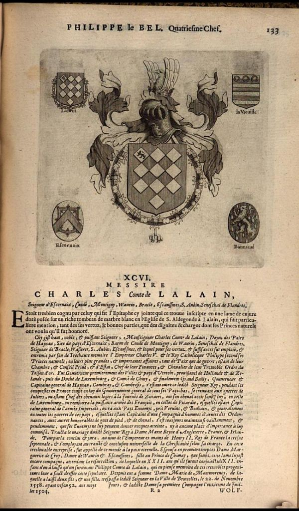 121. 1505, 17th Chapter of the Order, Middelburg; Charles I, Comte de Lalaing (1466-1525).