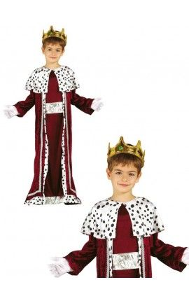 disfraz de rey mago gaspar para nio