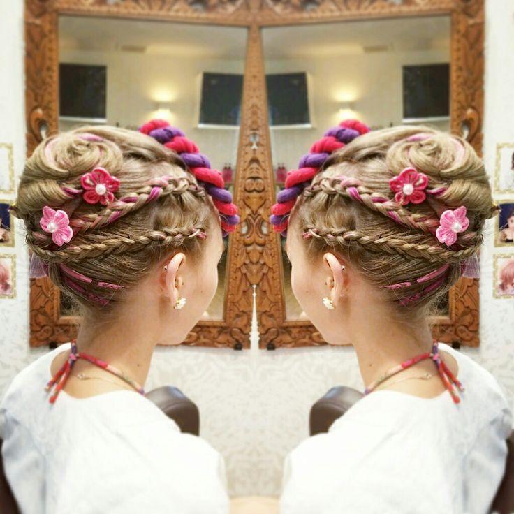 #潮来祭り #お祭り #ヘアセット #hairstyle #hairset #夏 #和髪 #編み込み #ねじり #お花 #frenchroll  #アップ #アップヘア #潮来 #佐原 #香取 #鹿嶋 #神栖 #美容室 #Welina #ウェリナ #hitomiyanagida #myworks #ブレーズ #braids #派手髪 #夜会巻き #抱き合わせ #祇園祭 #潮来祭り2016