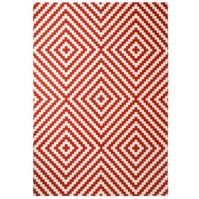 This Threshold rug is hypnotizing!