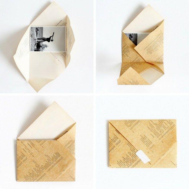 DIY: plegable sobres - paperiaarre.com
