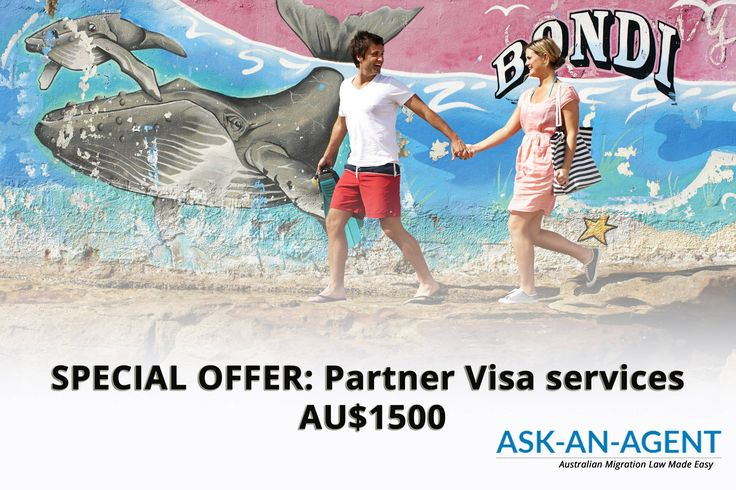 Partner Visa Australia - Special Promotion: Migration Agent and Immigration Lawyer Services for a fixed fee of $1500