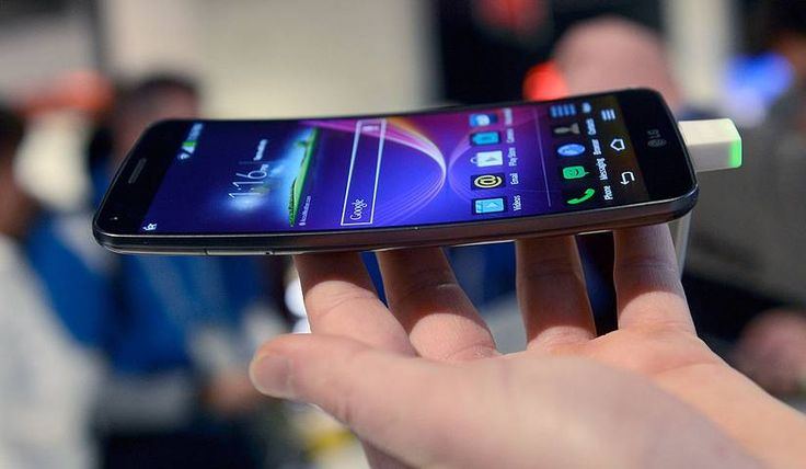 Your new iPhone 8 will have a bendable screen  Apple's new screen will follow the lead of other smartphones, like the LG G Flex phone seen above.