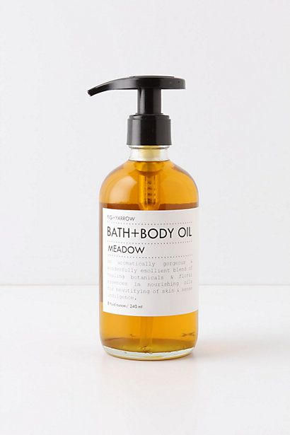 Fig   Yarrow Meadow Bath   Body Oil #anthropologie