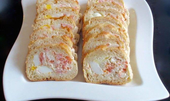Baguette farcie au saumon fumé : Diet & Délices - Recettes dietétiques