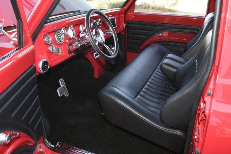 190 Best Images About Interiors 55 Chevy Pickup On Pinterest