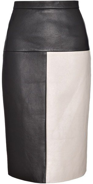 Leather Terra Pencil Skirt - Lyst