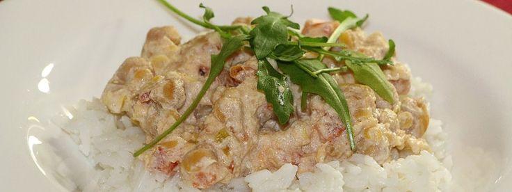 Rychlý a zdravý oběd: Cizrna na smetaně - Energie života