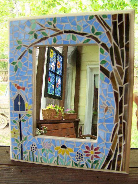 Mosaic tree mirror | Flickr: Intercambio de fotos