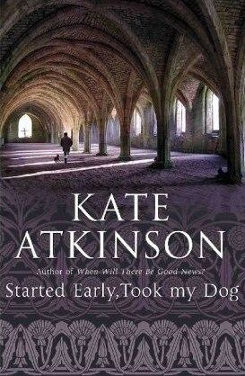 Started Early, Took My Dog (Jackson Brodie, #4) by Kate Atkinson. Tracy Waterhouse, a retired police detective leading a quiet life, makes a snap decision to relieve habitual offender Kelly Cross of a young child he's been dragging around town. Tracy soon learns her parental inexperience is actually the least of her problems, as much larger ones loom for her and her young charge.