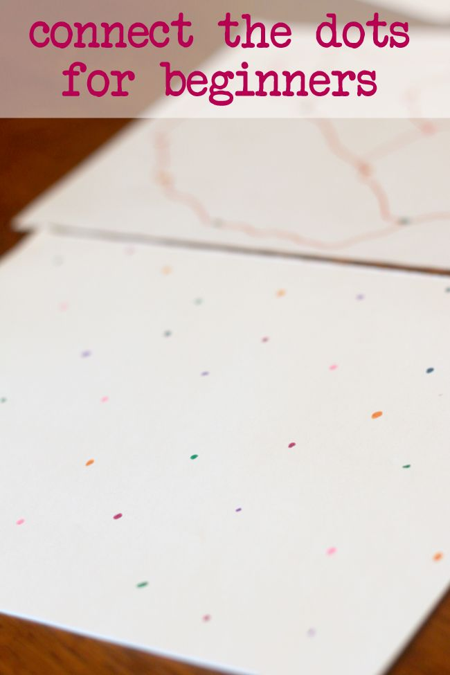 A connect the dots for preschoolers needs to be basic! This beginner version of connect the dots is for preschoolers that aren't quite reading numbers yet.