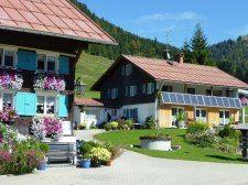 Bim schwarza Stürar & Haus Hedwig - Ferienwohnung / Appartement - Balderschwang im Allgäu