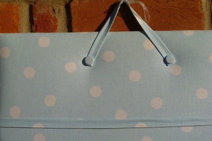 Blue Spot Notice Board, Hopscotch Handmade Gifts