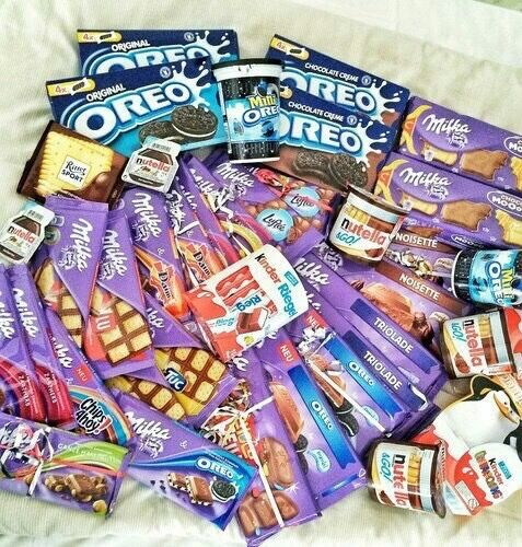 oreo, chocolate, and milka εικόνα