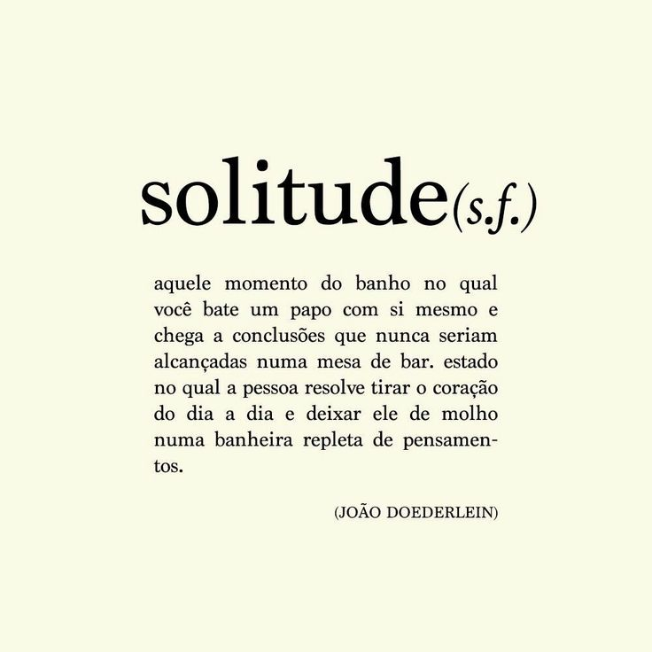 Solitude - João Doederlein