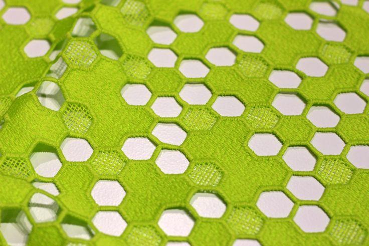Première Vision Spring Summer 18 Fair Report___GREENERY TREND___Broche/Estar Textil
