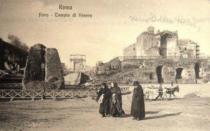 Meta Sudante, Tempio di Venere e Arco di Tito Anno: (?)