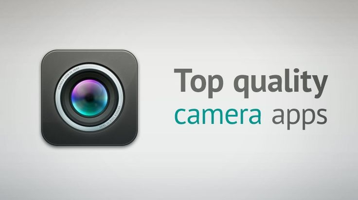 An top list of camera apps for iOS. #iOS #camerapps #apps #iPhone #iPad