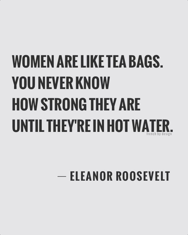 Wednesday quote : #girlpower - French By Design