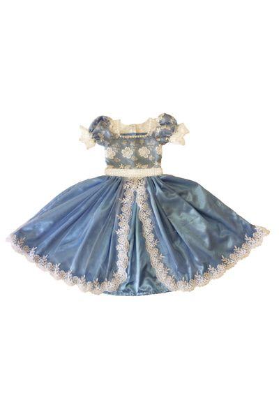 e0b2d1e5ce Compre Vestido de com Tule Bordado - Infantil no Elo7 por R  390