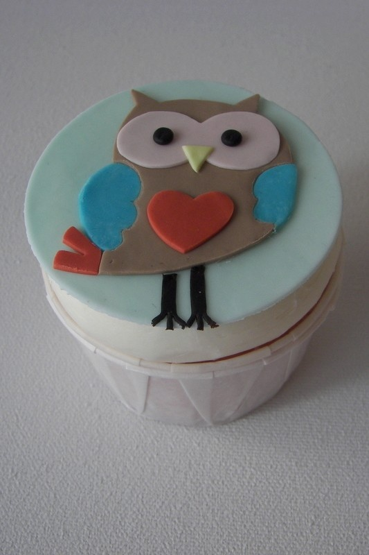 Cup Cake Chouette