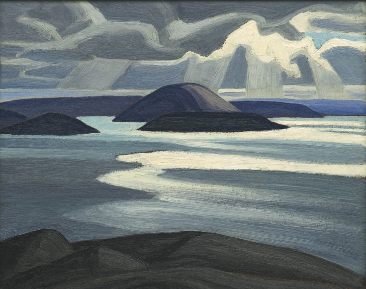 Lawren Harris, Lake Superior Sketch XLV (collection: A.K. Prakash) - would he have condoned the tar sands?