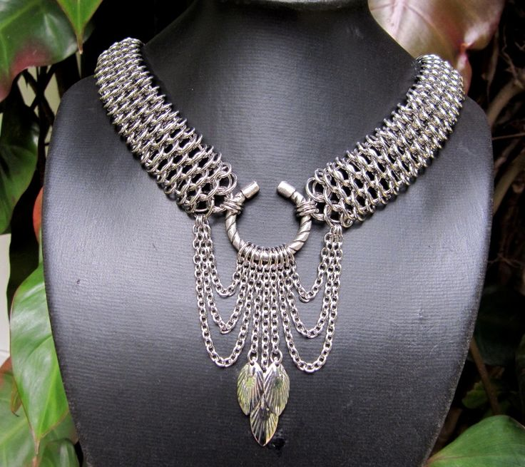 Stainless steel Dragonscale. by Gail Rust