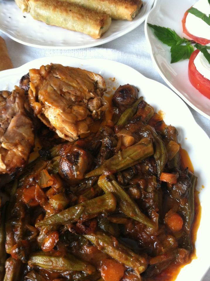 Bamje me mish pule (Receta nga Marina)