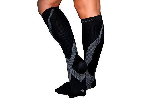 Compression Socks for Men and Women - Athletic Full Calf Supportive Shin Splint Stockings for Travel - Athletes - Running - Nurses - After Surgery - Diabetics - Maternity Pregnancy TeBo Sport, http://www.amazon.com/dp/B075RNB9GY/ref=cm_sw_r_pi_dp_U_x_ClswAbZNC0YQQ