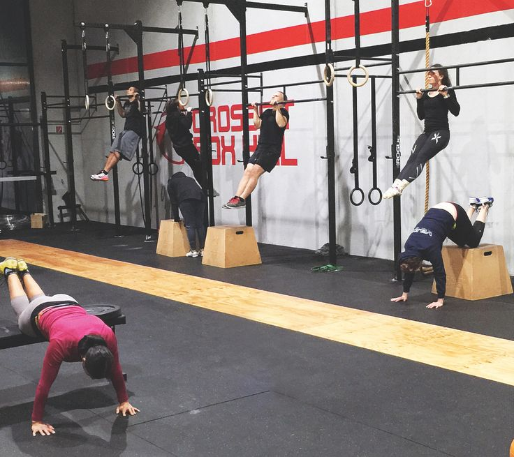 """We try: CrossFit Box Hill. """"That pain where you know you've done some good for your body."""" Photo by Ewen McRae"""