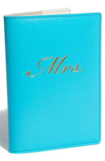 Passport Holder by Kate Spade... great gift for a bridal shower, just sayin'