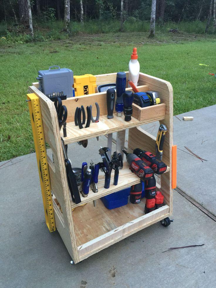 Best 20 tool cart ideas on pinterest art tool storage for Woodworking cart