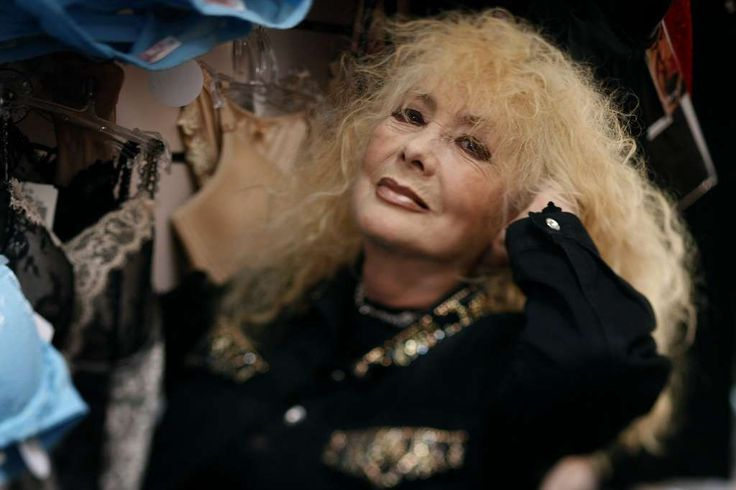 Legendary North Beach stripper Carol Doda works at her Champagne and Lace lingerie shop in San Francisco, Calif., on Tuesday, July 14, 2009. Photo: Paul Chinn, The Chronicle