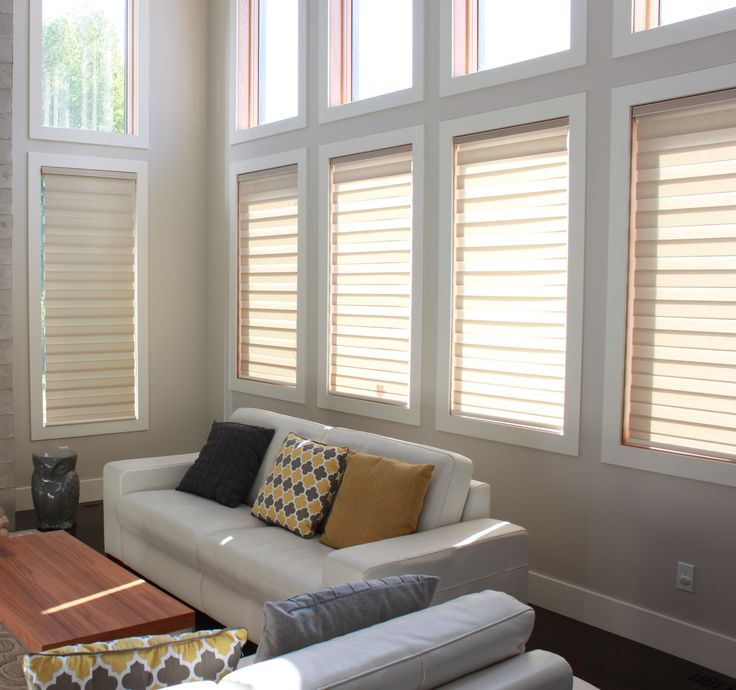 Sheer Shades I An innovative fusion of light filtering fabric with the functionality of blinds resulting in the most elegant window coverings available. Contact us at www.urbansettler.com to arrange your Fernie/ Elk Valley consultation.
