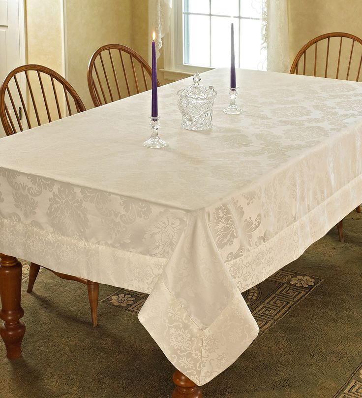 Best 25 Damask Tablecloth Ideas On Pinterest